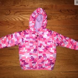 The north face Toddler Girls Reversible Jacket